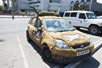 Автомобиль участник тура Ралли в Монголию в Бишкеке