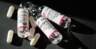 Лекарственный препарат мельдоний. Архивное фото