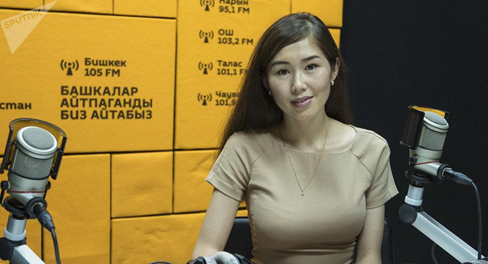 Научная сотрудница национального стратегического института Айнура Бектемирова