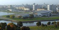Вид на Дворец спорта в Минске. Архивное фото