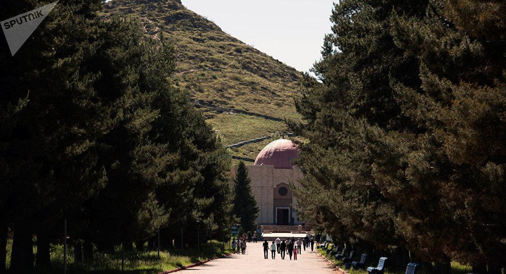 Таластагы Манастын музейи. Архивдик сүрөт