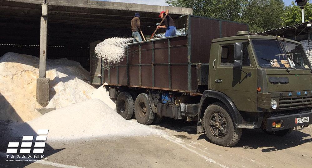 Бишкектеги Тазалык муниципалдык ишканасы кышка даярдык көрүп жатат
