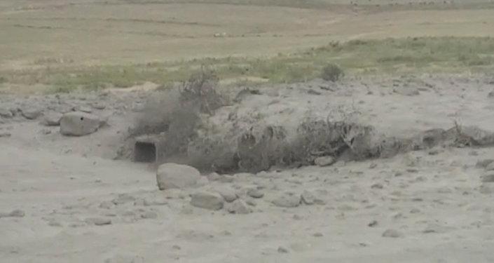 Страшный поток грязи и камней спускается с гор близ Бишкека — видео
