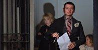 Заслуженный артист России, актер и телеведущий Александр Олешко. Архивное фото