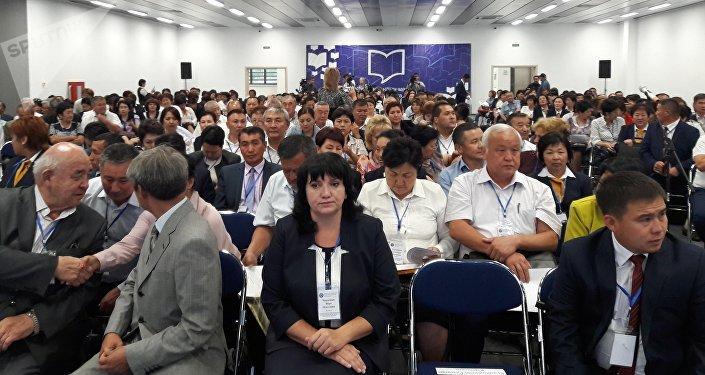 Собрание учителей в Чолпон-Ате