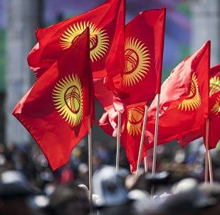 Мероприятия, посвященные седьмой годовщине Апрельской революции 2010 года в Бишкеке