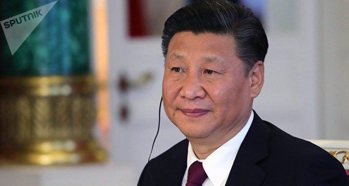 Кытай лидери Си Цзиньпиндин архивдик сүрөтү