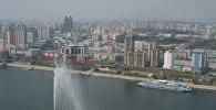Пхеньян шаарынын көрүнүшү. Архивдик сүрөт