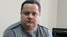 Архивное фото руководителя правового центра Вигенс Владимира Плужника
