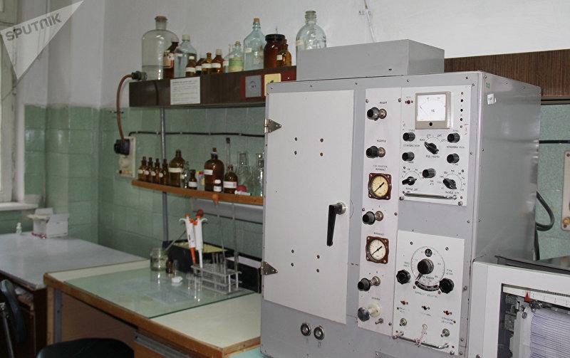 Кабинет в республиканском патологоанатомическом бюро (морг) в Бишкеке