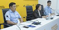 Пресс-конференция на тему Порядок голосования на выборах президента КР