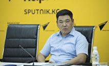 Председатель Бишкекской ТИК Кайрат Маматов. Архивное фото