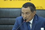 Жогорку Кеңештин аппарат жетекчиси Самат Ибраевдин архивдик сүрөтү