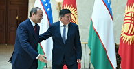 В государственной резиденции Ала-Арча началась встреча премьер-министров Кыргызстана и Узбекистана Сооронбая Жээнбекова и Абдуллы Арипова