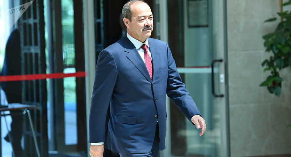 Өзбекстандын премьер-министри Абдулла Арипов. Архив