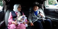 Парочка в Кыргызстане отметила благодатную свадьбу — 70 лет вместе