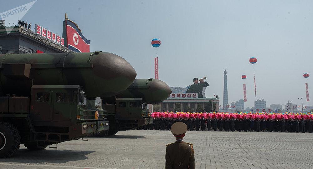 ВЮжной Корее требуют расположить вгосударстве ядерное оружие США