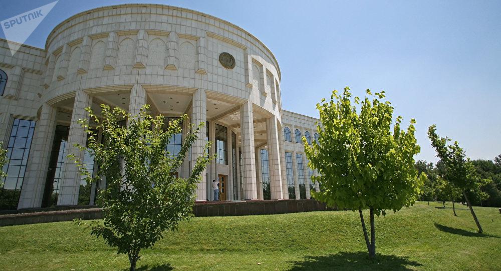 Өзбекстан президентинин резиденциясы (Оксарой). Архивдик сүрөт