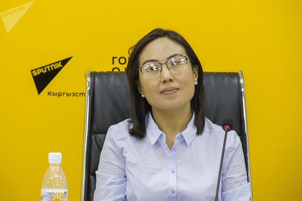 Член национального комитета фестиваля в Сочи Бермет Каниметова