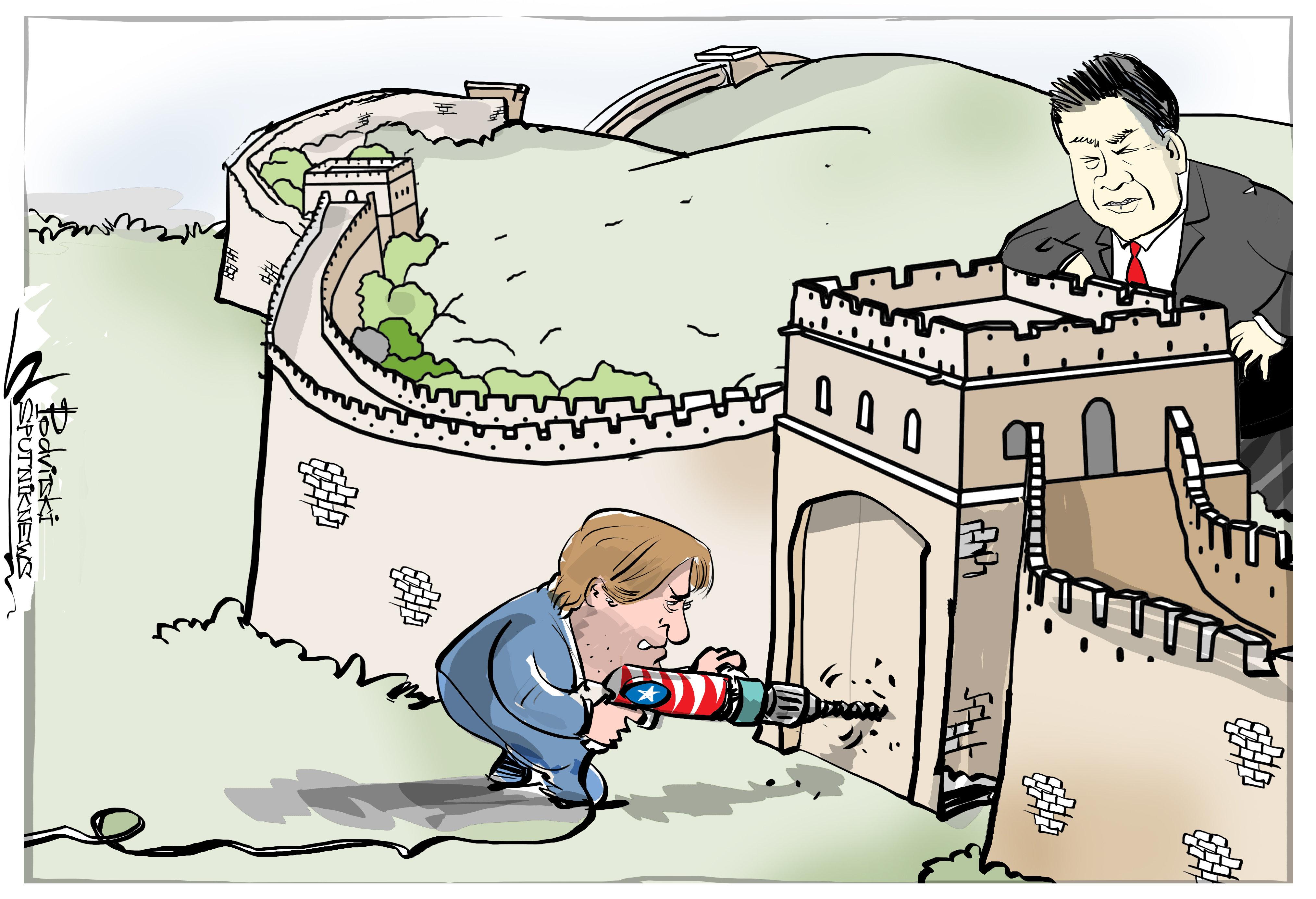 Последнее китайское предупреждение?