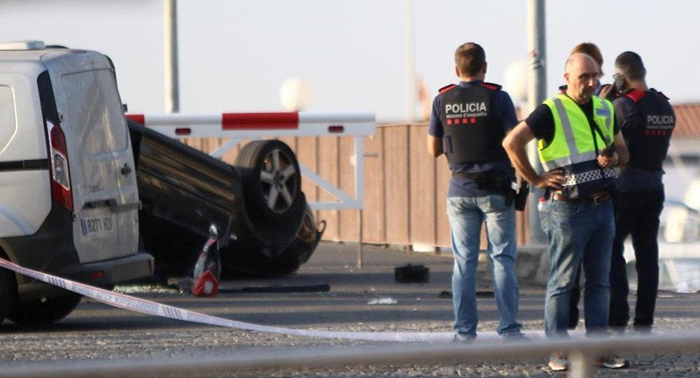 Милиция подтвердила, что убитый является исполнителем теракта вБарселоне