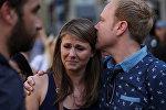 Барселона теракттан кийинки абал. Архивдик сүрөт