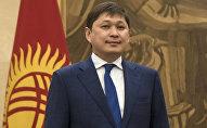 Архивное фото руководителя аппарата президента Кыргызстана Сапара Исакова
