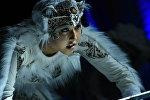 Закрытая премьера спектакля Ак илбирс в Бишкеке