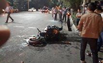 Смертельное ДТП в Бишкеке с участием мотоциклиста