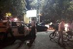 19-августка караган түнү болжол менен саат 1.30дарда Чүй проспектиси менен Тоголок Молдо көчөсүнүн кесилишинде мотоцикл менен Toyota Passo унаасы кагышып кеткен