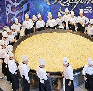 Өзбекстанда даярдалган 6 тонна палоо