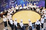Плов общим весом 6 тонн приготовленный в Узбекистане