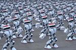 Кытайда бийге түшкөн миңден ашуун робот дүйнөлүк рекорд койду