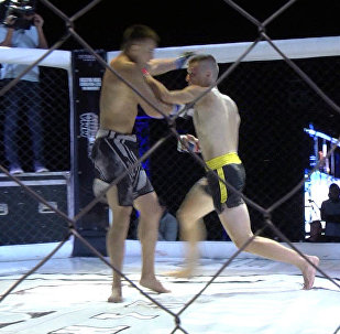 Жестокое рубилово — лучшие бои турнира по ММА на Иссык-Куле