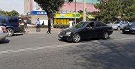 В милицию поступило сообщение, что в здании ЦУМа в Бишкеке заложена бомба