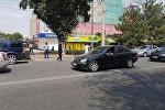 Оцеплен здание ЦУМа в Бишкеке. Сообщение о бомбе