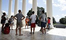 Студенты первого курса в США. Архивное фото