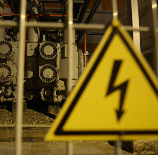 Электр станция. Архивное фото