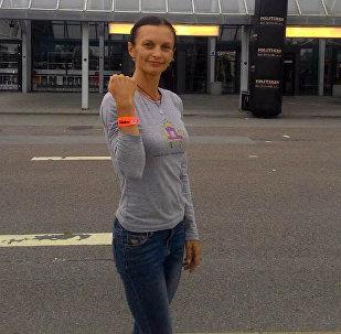 Первая Железная Женщина из Кыргызстана Юлия Фернас финишировала на IronMan 140.6 в Копенгагене