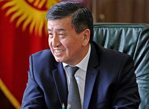 Архивное фото премьер-министра КР Сооронбая Жээнбекова