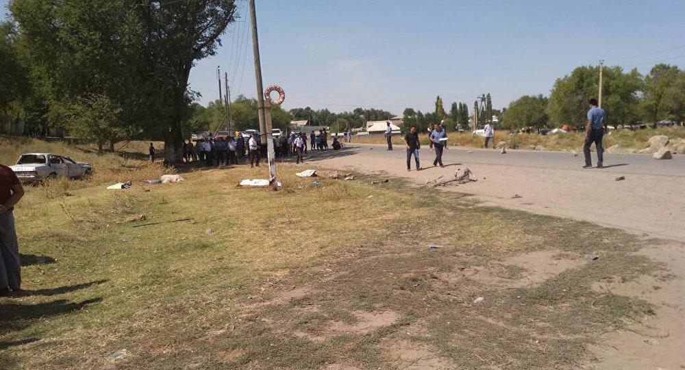 Смертельный наезд на четверых людей в Сокулукском районе Чуйской области