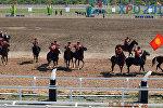 Сборная Кыргызстана на Чемпионате мира по кокпару в Астане