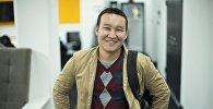 Sputnik Кыргызстан башкы-редактору Эркин Алымбеков. Архивдик сүрөт