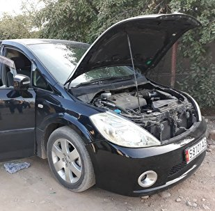 Минивэн Nissan Presage, в котором возможно, были члены террористической группировки