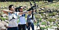 Международный турнир по олимпийской стрельбе из лука в ущелье Чункурчак