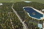Бишкек мэриясы калаадагы төрт парктын 3D видео долбоорун сунуштады