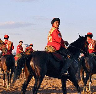 Сборная Кыргызстана на чемпионате мира по кокпару