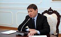 Руководитель аппарата президента Кыргызстана Сапар Исаков. Архивное фото