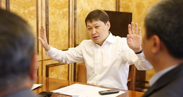 Премьер-министр Кыргызстана Сапар Исаков. Архивное фото