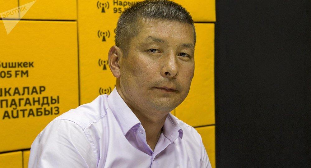 ФИФАнын калысы, Кыргыз футбол союзунун юридикалык бөлүмүнүн начальниги Нурдин Букуев